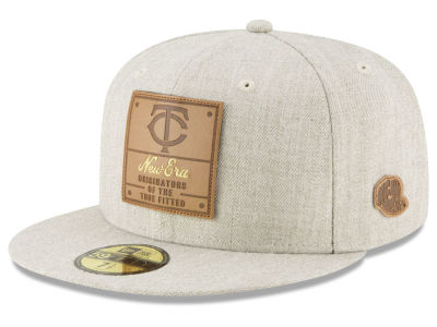 Minnesota Twins New Era MLB Vintage Oatmeal 59FIFTY Cap