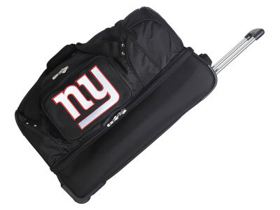 New York Giants 27in Wheeled Duffel Bag V