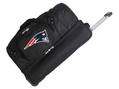 New England Patriots Mojo 27in Wheeled Duffel Bag