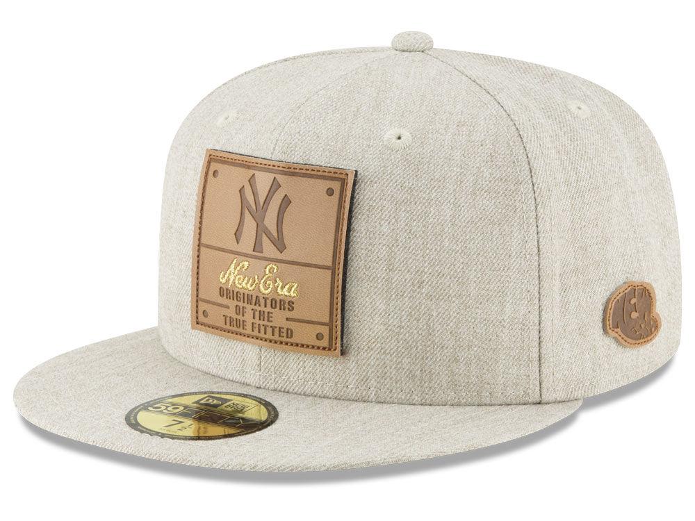 80e166bb2cc New York Yankees New Era MLB Vintage Oatmeal 59FIFTY Cap