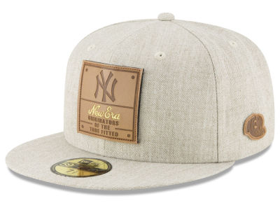 New York Yankees New Era MLB Vintage Oatmeal 59FIFTY Cap