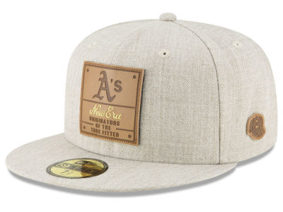Oakland Athletics New Era MLB Vintage Oatmeal 59FIFTY Cap