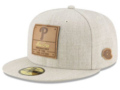 Philadelphia Phillies New Era MLB Vintage Oatmeal 59FIFTY Cap