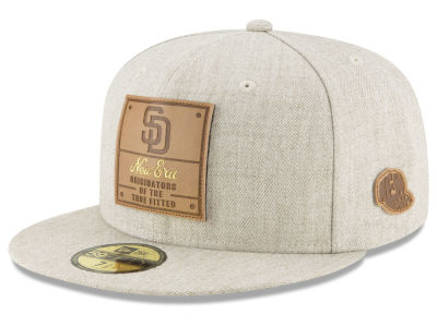 San Diego Padres New Era MLB Vintage Oatmeal 59FIFTY Cap