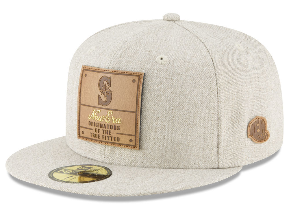 new product 030fc 1849a wholesale seattle mariners new era mlb vintage oatmeal 59fifty cap 62ffe  acebf