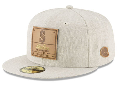 Seattle Mariners New Era MLB Vintage Oatmeal 59FIFTY Cap