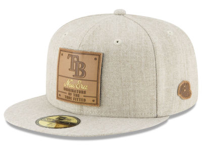 Tampa Bay Rays New Era MLB Vintage Oatmeal 59FIFTY Cap