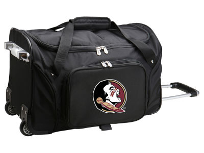 Florida State Seminoles 22in Wheeled Duffel Bag V
