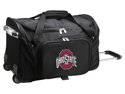 Ohio State Buckeyes 22in Wheeled Duffel Bag V