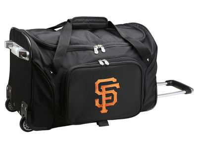 San Francisco Giants 22in Wheeled Duffel Bag V