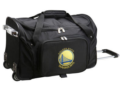 Golden State Warriors 22in Wheeled Duffel Bag V