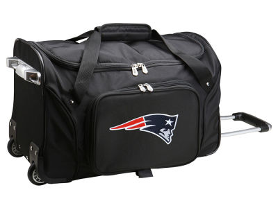 New England Patriots Mojo 22in Wheeled Duffel Bag