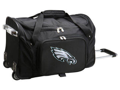 Philadelphia Eagles Mojo 22in Wheeled Duffel Bag