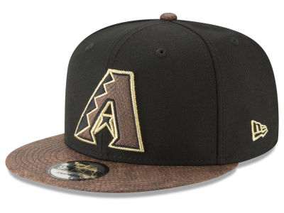 Arizona Diamondbacks New Era MLB Gold Snake 9FIFTY Snapback Cap