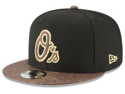 Baltimore Orioles New Era MLB Gold Snake 9FIFTY Snapback Cap