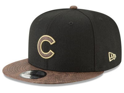 Chicago Cubs New Era MLB Gold Snake 9FIFTY Snapback Cap