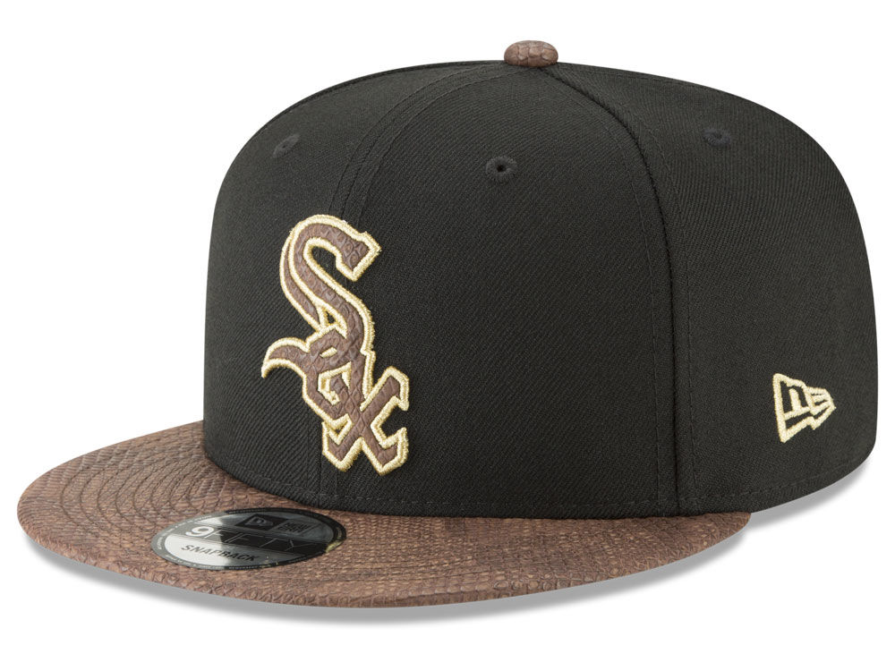 brand new aa167 17357 coupon chicago white sox new era mlb gold snake 9fifty snapback cap 32e74  e03ce