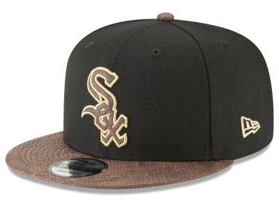 Chicago White Sox New Era MLB Gold Snake 9FIFTY Snapback Cap
