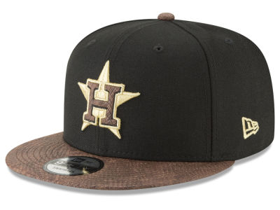 Houston Astros New Era MLB Gold Snake 9FIFTY Snapback Cap