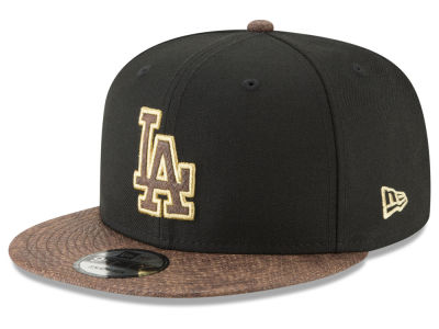 Los Angeles Dodgers New Era MLB Gold Snake 9FIFTY Snapback Cap