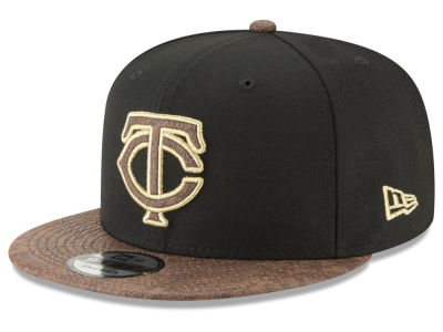 Minnesota Twins New Era MLB Gold Snake 9FIFTY Snapback Cap
