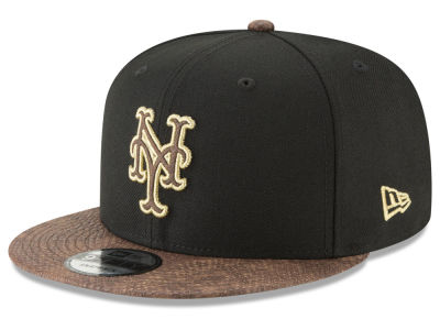 New York Mets New Era MLB Gold Snake 9FIFTY Snapback Cap