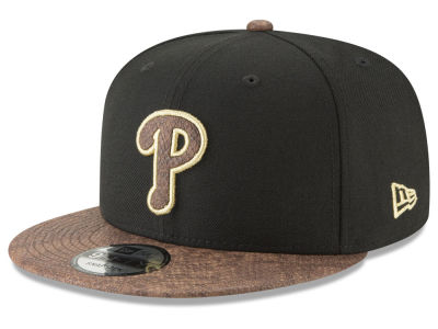 Philadelphia Phillies New Era MLB Gold Snake 9FIFTY Snapback Cap