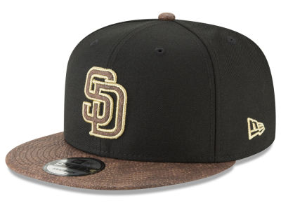 San Diego Padres New Era MLB Gold Snake 9FIFTY Snapback Cap