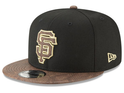 San Francisco Giants New Era MLB Gold Snake 9FIFTY Snapback Cap