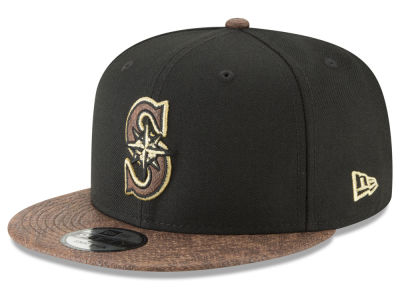Seattle Mariners New Era MLB Gold Snake 9FIFTY Snapback Cap