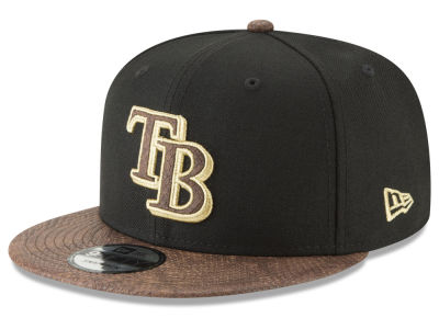 Tampa Bay Rays New Era MLB Gold Snake 9FIFTY Snapback Cap