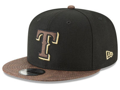 Texas Rangers New Era MLB Gold Snake 9FIFTY Snapback Cap