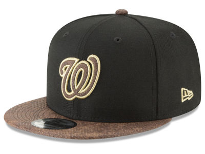 Washington Nationals New Era MLB Gold Snake 9FIFTY Snapback Cap