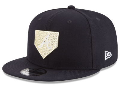 Atlanta Braves New Era MLB Gold Badge 9FIFTY Snapback Cap