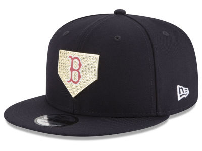 Boston Red Sox New Era MLB Gold Badge 9FIFTY Snapback Cap