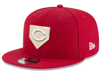 Cincinnati Reds New Era MLB Gold Badge 9FIFTY Snapback Cap