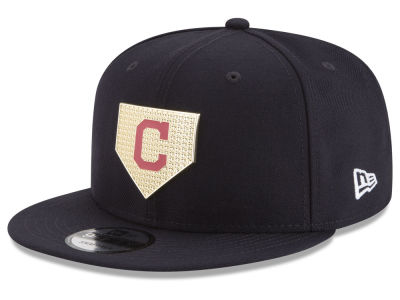 Cleveland Indians New Era MLB Gold Badge 9FIFTY Snapback Cap