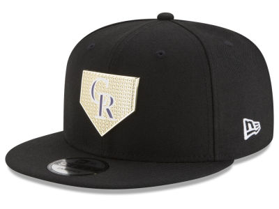 Colorado Rockies New Era MLB Gold Badge 9FIFTY Snapback Cap