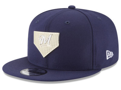 Milwaukee Brewers New Era MLB Gold Badge 9FIFTY Snapback Cap