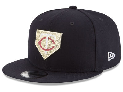 Minnesota Twins New Era MLB Gold Badge 9FIFTY Snapback Cap