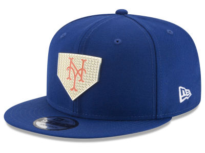 New York Mets New Era MLB Gold Badge 9FIFTY Snapback Cap