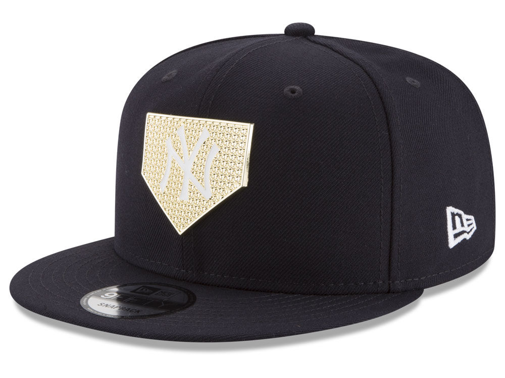 b2b0c4c8c9d New York Yankees New Era MLB Gold Badge 9FIFTY Snapback Cap