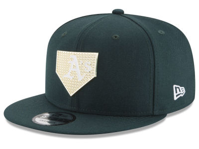 Oakland Athletics New Era MLB Gold Badge 9FIFTY Snapback Cap
