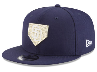 San Diego Padres New Era MLB Gold Badge 9FIFTY Snapback Cap