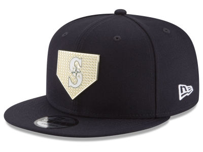 Seattle Mariners New Era MLB Gold Badge 9FIFTY Snapback Cap