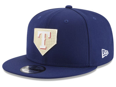 Texas Rangers New Era MLB Gold Badge 9FIFTY Snapback Cap