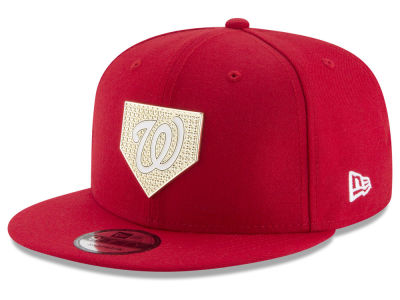Washington Nationals New Era MLB Gold Badge 9FIFTY Snapback Cap
