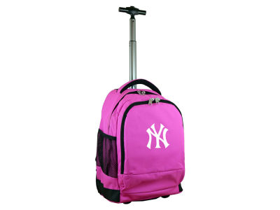 New York Yankees Mojo Wheeled Premium Backpack