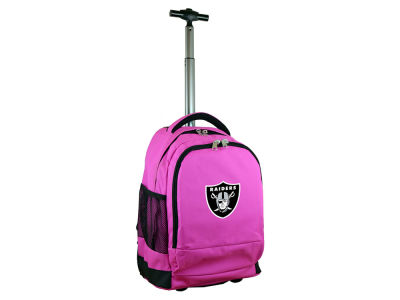 Oakland Raiders Wheeled Premium Backpack V