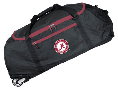 Alabama Crimson Tide Mojo 36in Checked In Rolling Duffel